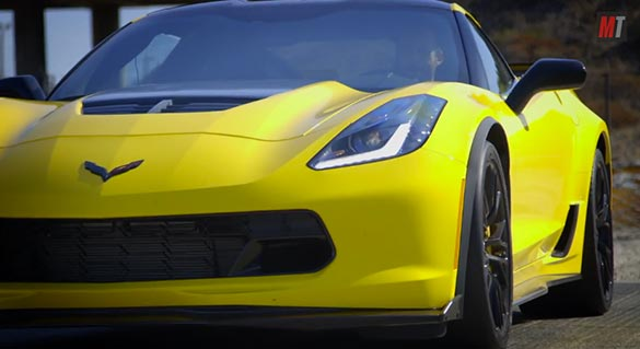 [VIDEO] Motor Trends Drives the 2015 Corvette Z06