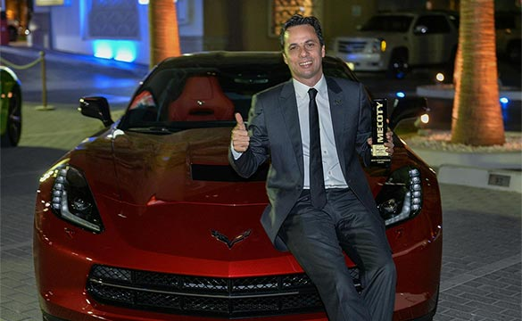 Corvette Stingray Named Best Performance Coupe in the Middle East