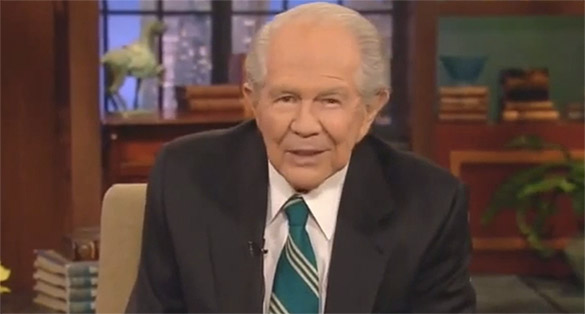 [VIDEO] God is Okay with Pat Robertson Driving 100 MPH in his Corvette