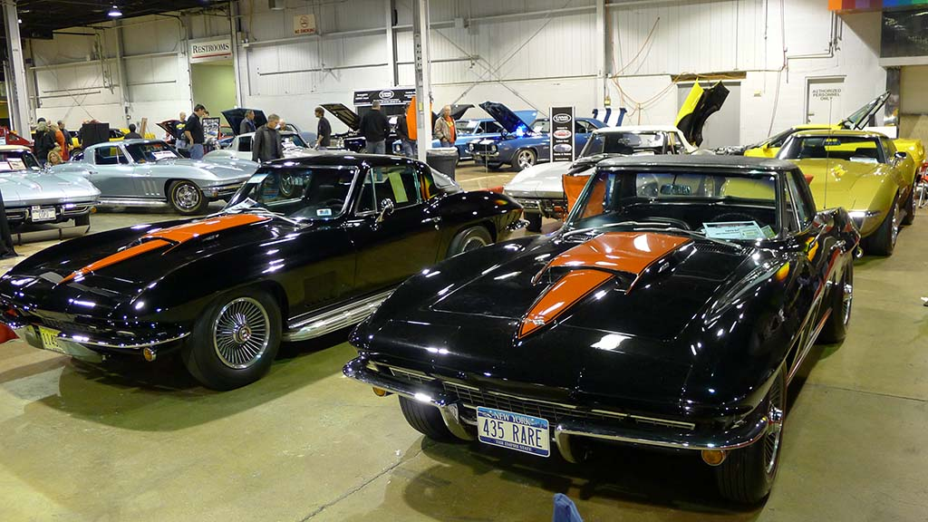 Pics The Corvettes Of The 2014 Muscle Car And Corvette Nationals