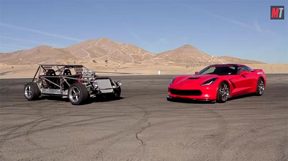 [VIDEO] 1985 C4 Corvette Kart vs a 2014 Lingenfelter C7 on Motor Trend's Roadkill