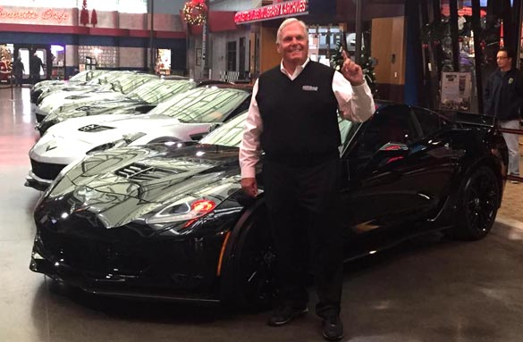 [VIDEO] Rick Hendrick Takes Delivery of his VIN 001 2015 Corvette Z06 at the Corvette Museum