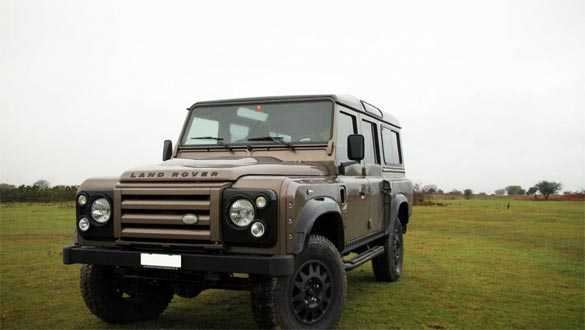 Unholy Engine Swap: Land Rover Defender 4x4 Gets More Power From a