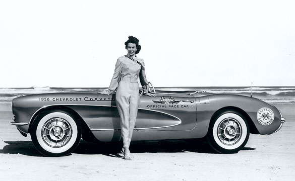 [PIC] Throwback Thursday: Betty Skelton and the 1956 Daytona Pace Car Corvette