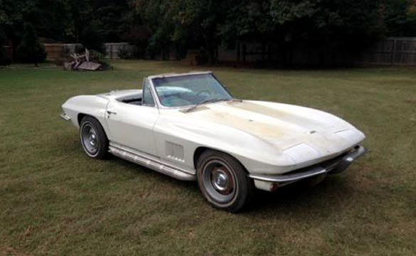 Corvettes on eBay: Tangier Shriner Patrol's 1967 COPO Corvette