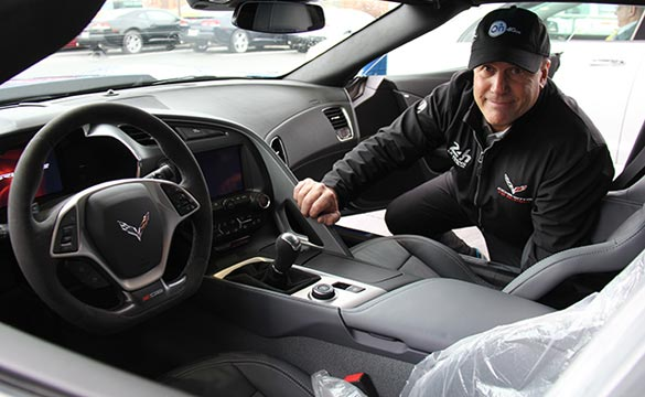 Corvette Seller Mike Furman Takes Delivery of his Personal 2015 Corvette Z06