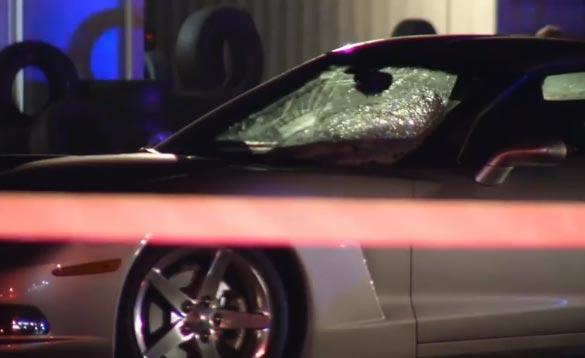 C6 Corvette Driver Hits a Pedestrian in Jacksonville