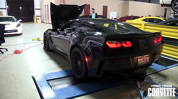 [VIDEO] Another 2015 Corvette Z06 Hits the Dyno and Shows 572 RWHP