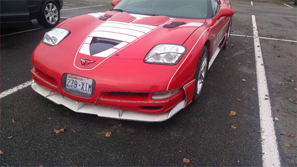 C5 Corvette Wins Our WTF Award With Tacky Stick-On Upgrades