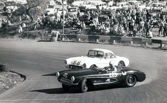 [PIC] Throwback Thursday: Classic Corvettes Drifting at the Track