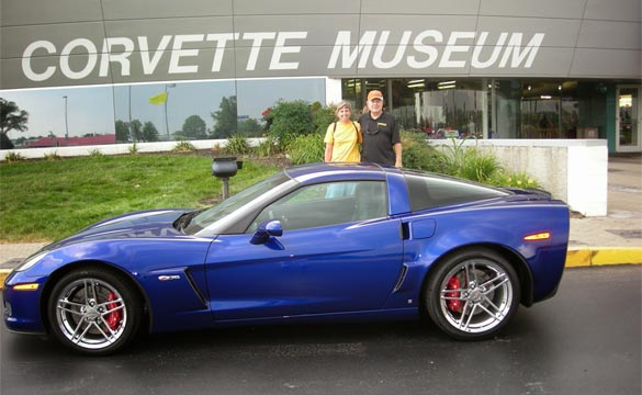 2007 Corvette Z06 Donated to the National Corvette Museum