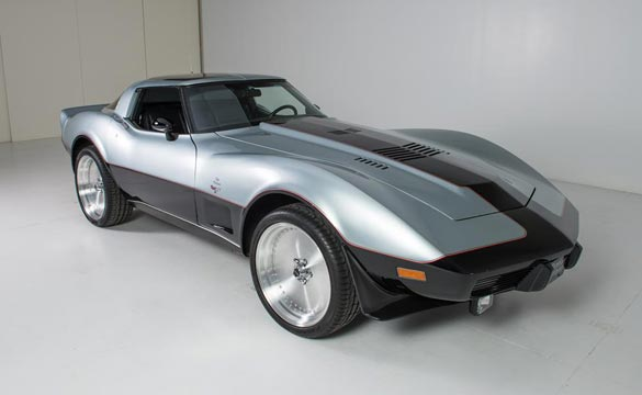Granatelli Turbine-Powered 1978 Corvette to be Sold at Barrett-Jackson's Scottsdale Auction