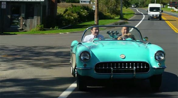 Jerry Seinfeld and Jimmy Fallon Ride in a Classic 1956 Corvette on Comedians in Cars Getting Coffee