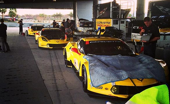 Corvette Racing Working To Improve the Corvette C7.R