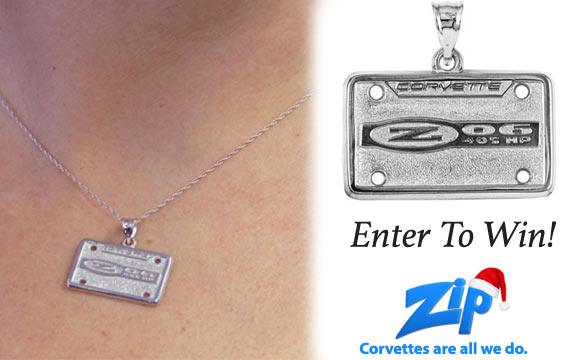 Enter to Win a C5 Z06 Silver Pendant from Zip Corvette Parts