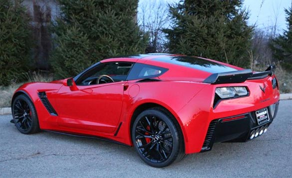 Corvette Z06 Engine Blows Up at 891 Miles