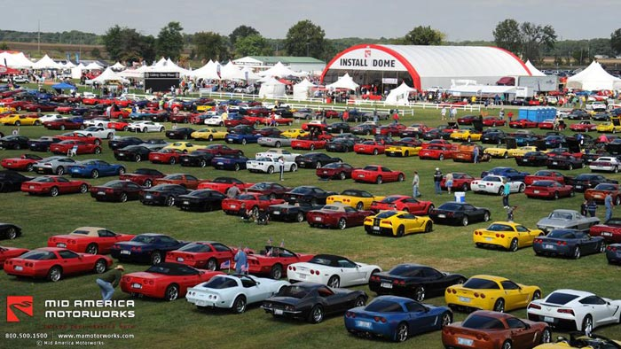 [GALLERY] Corvette Funfest 2015 at Mid America Motorworks (100 Corvette photos)