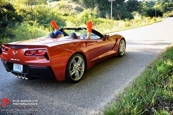 Corvette FunFest 2015 at Mid America Motorworks