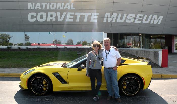 Corvette Museum Delivers First 2016 Corvette Z06 C7.R Edition