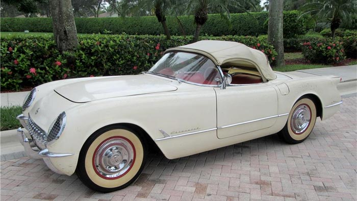 Barrett-Jackson to Offer the 1954 Entombed Corvette at its January Auction