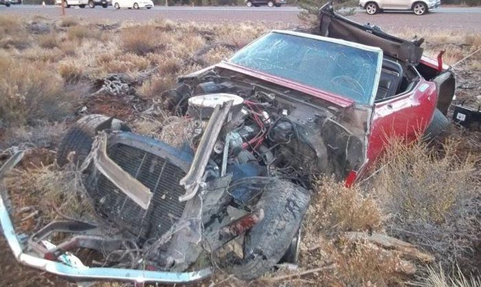 [ACCIDENT] Corvette Driver Loses Life in Failed Attempt to Pass Slower Cars