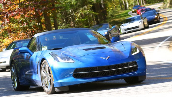Corvette Owners Try to Set Guinness World Record on the Tail of the Dragon