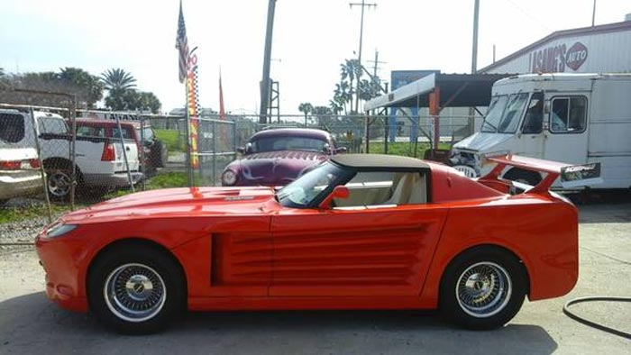Corvettes on Craigslist: Custom 1977 Scorpion Is (Hopefully) Only One Ever Made