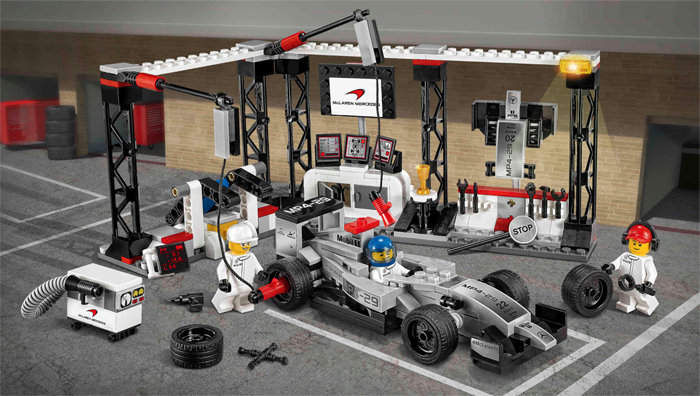 Corvette Z06 Added to Lego's 2016 Speed Champions Kit