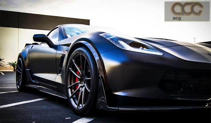 [PICS] Corvette Z06 Gets a Satin and Carbon Fiber Overhaul