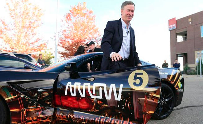 Colorado's Governor Drives Semi-Autonomous Corvette