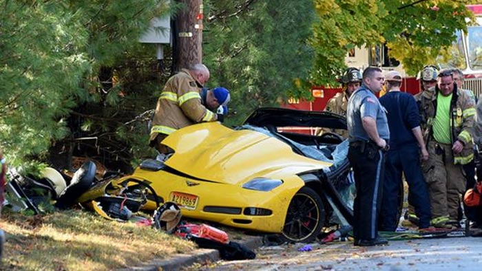 [ACCIDENT] Son Airlifted after Dad Crashes C5 Corvette in New Jersey