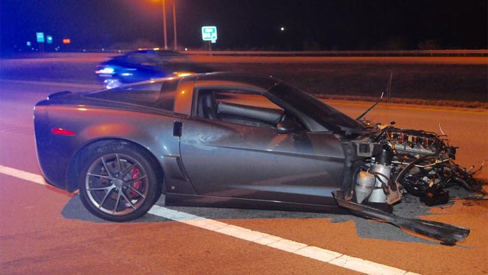 [VIDEO] C6 Corvette Rollover Crash Badly Injures Two in Ohio