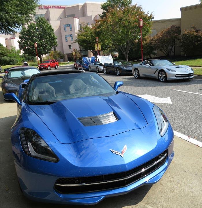 Corvette Forum Members Raise $1 Million for St. Jude Pediatric Cancer Center