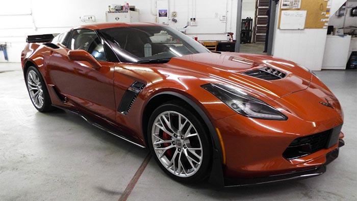 Corvette to Phase Out Night Race Blue and Daytona Sunrise Orange Metallic