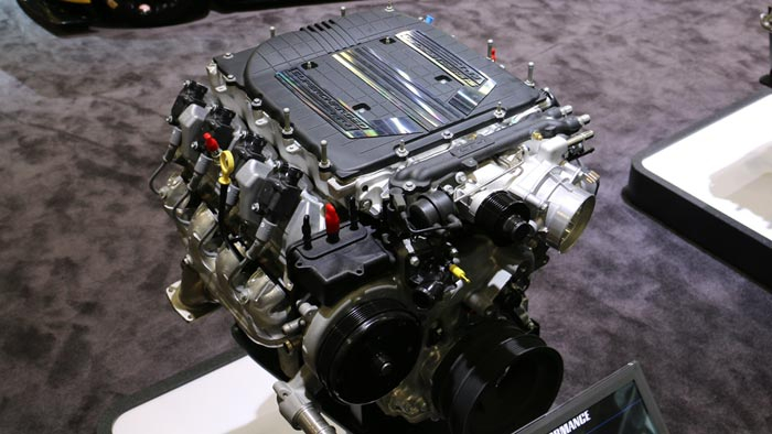 The Corvette Z06's Supercharged LT4 Powerplant Now Available as a Crate Engine