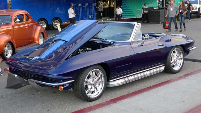 [PICS] SEMA 2015 - 1963 Custom Corvette Roadster 'Raytona'