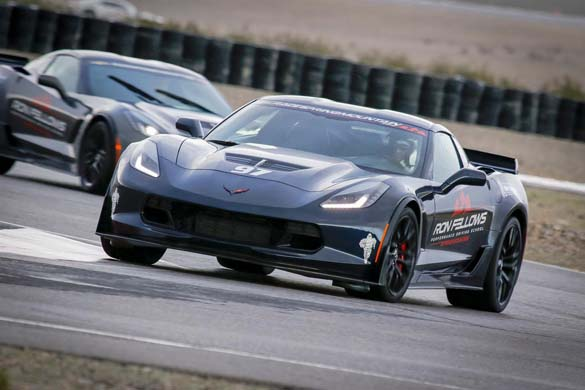National Corvette Seller Mike Furman Drives the Corvette Z06 at Spring Mountain