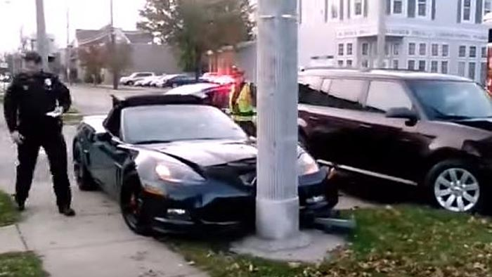 [ACCIDENT] Man Owns his Dream Corvette for One Hour Before Being Smashed by SUV