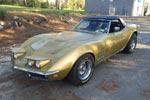 Corvettes on eBay: Barn Find 1969 Corvette Sells for $28,300