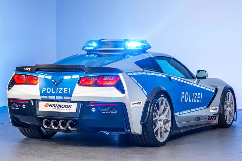 corvette stingray police car is just the tikt - Corvette Stingray Light Blue