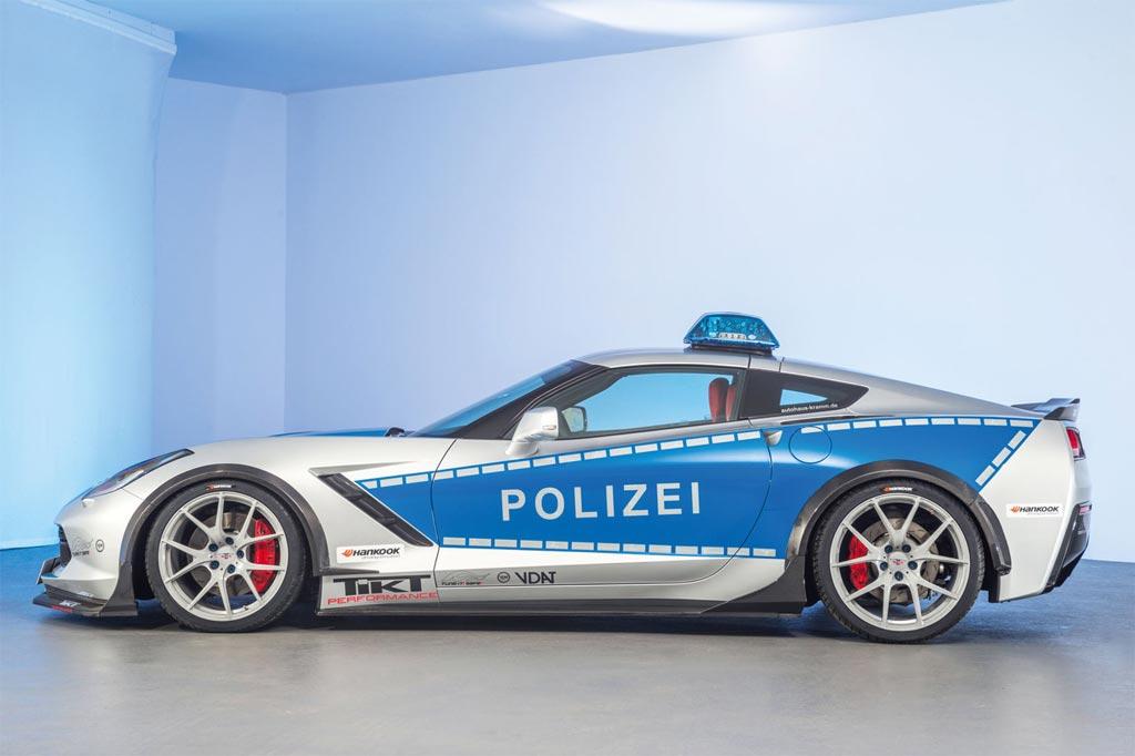 Polizei Corvette