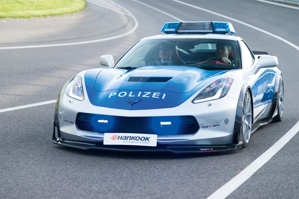 Video Corvette Stingray Police Car Is Just The Tikt