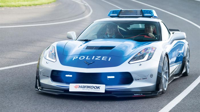 [PICS] Corvette Stingray Police Car is Just the TIKT