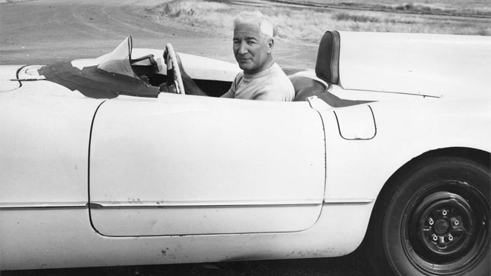 [PIC] Throwback Thursday: Zora Duntov and the EX87 Corvette Mule Hit 162 MPH