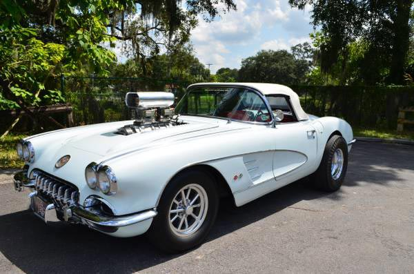 Corvettes on Craigslist: 1958 Drag Corvette - Corvette ...