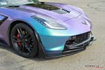 [PICS] Lavender Turquoise Wrapped Corvette Stingray is a Multi-Colored Beauty