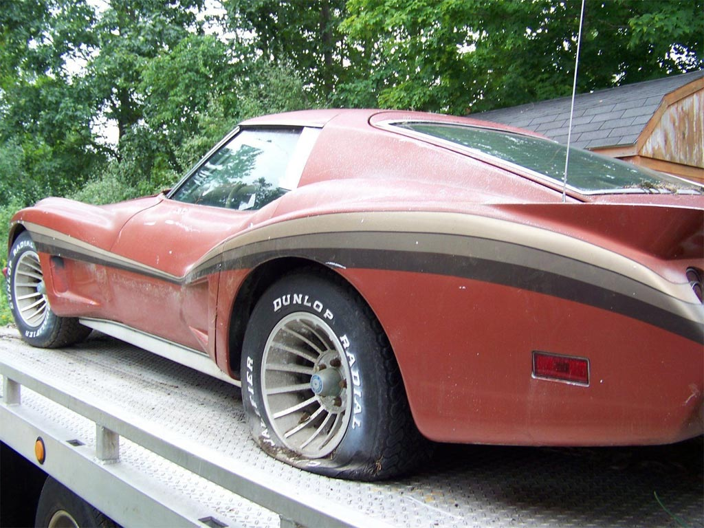 Corvettes On Ebay Barn Find 1974 Corvette With Greenwood