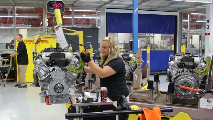 GM to Invest $44 Million and Create 36 New Jobs at the Corvette Assembly Plant