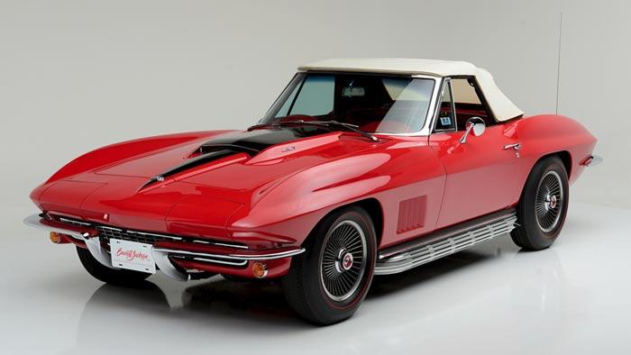 Music Car 1967 Corvette