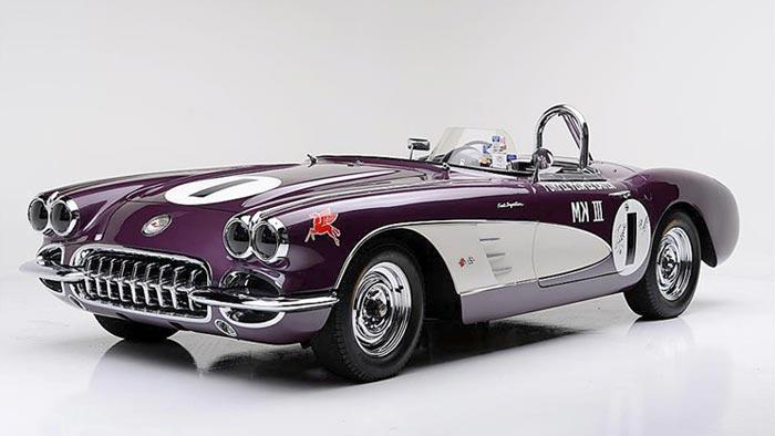 Purple People Eater Corvette Racer